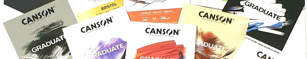 Canson Graduate Drawing books collection